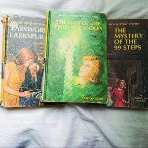 Vtg Nancy Drew Hardcover Books Includes 3 Books